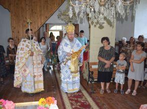 Русенският митрополит Наум гостува в село Дряновец