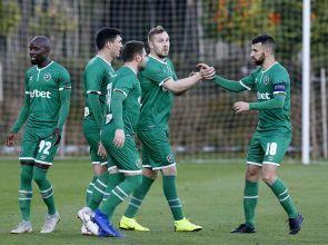 Попа с първи неофициален гол за Лудогорец при победа с 4:2 над Хонвед