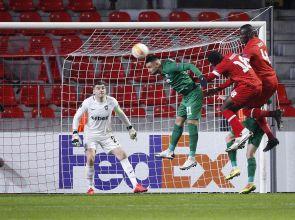 Лудогорец записа пета поредна загуба в Лига Европа, Десподов с първи гол