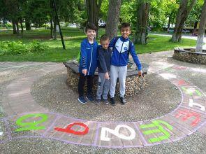 Забавна алея на игрите се появи в Кубратския парк