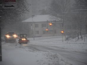 31 машини чистят пътищата в Разградска област, има ограничения зе тежкотоварни автомобили