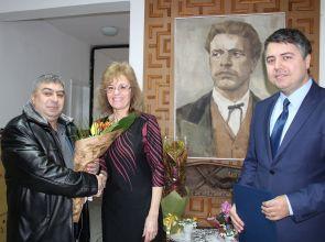 """Главният секретар на Областна администрация бе гост на тържеството за патронния празник на ДГ""""Васил Левски"""""""