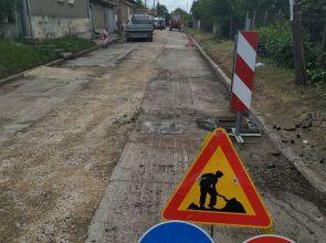 Ремонтът на улиците в Исперих е към края си