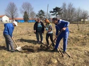 """Залесителна доброволческа акция на общинските съветници от """"Земеделски народен съюз"""""""